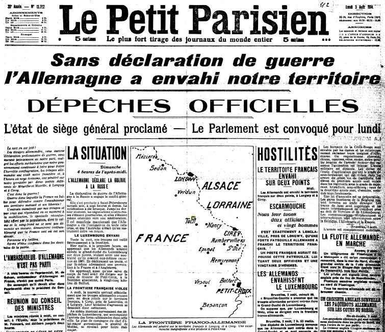 declaration guerre