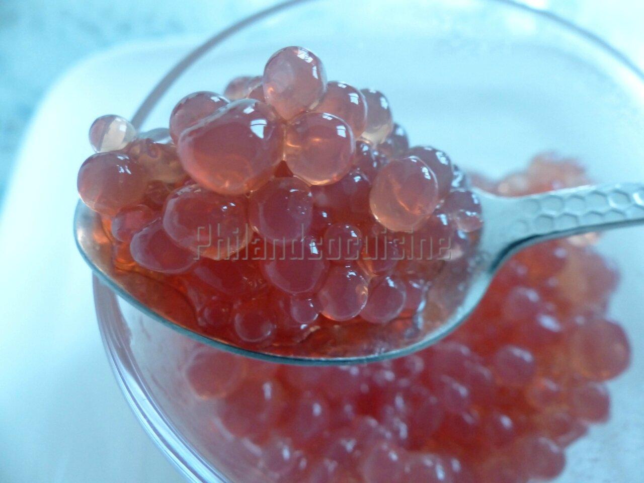 Perles de vinaigre de framboise et d 39 agar agar for Agar agar cuisine