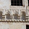 turquie cappadoce maison des voisins bas relief