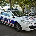 Renault mégane iii estate police nationale