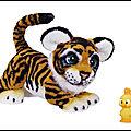 Furreal tyler rugissant - le tigre joueur - hasbro - video