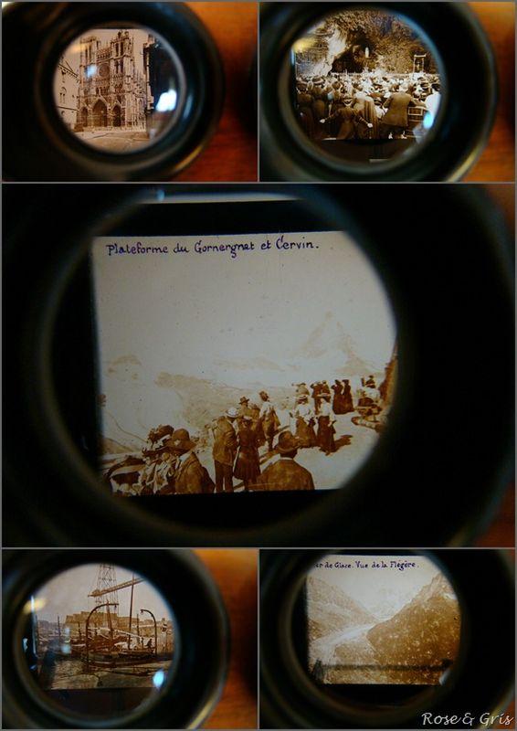 stéréoscope détails des vues