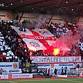 [photos tribunes] nancy - st-etienne, saison 2011/12