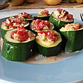 Makis de courgette