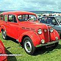 Renault juvaquatre dauphinoise (Retro Meus Auto Madine 2012) 01
