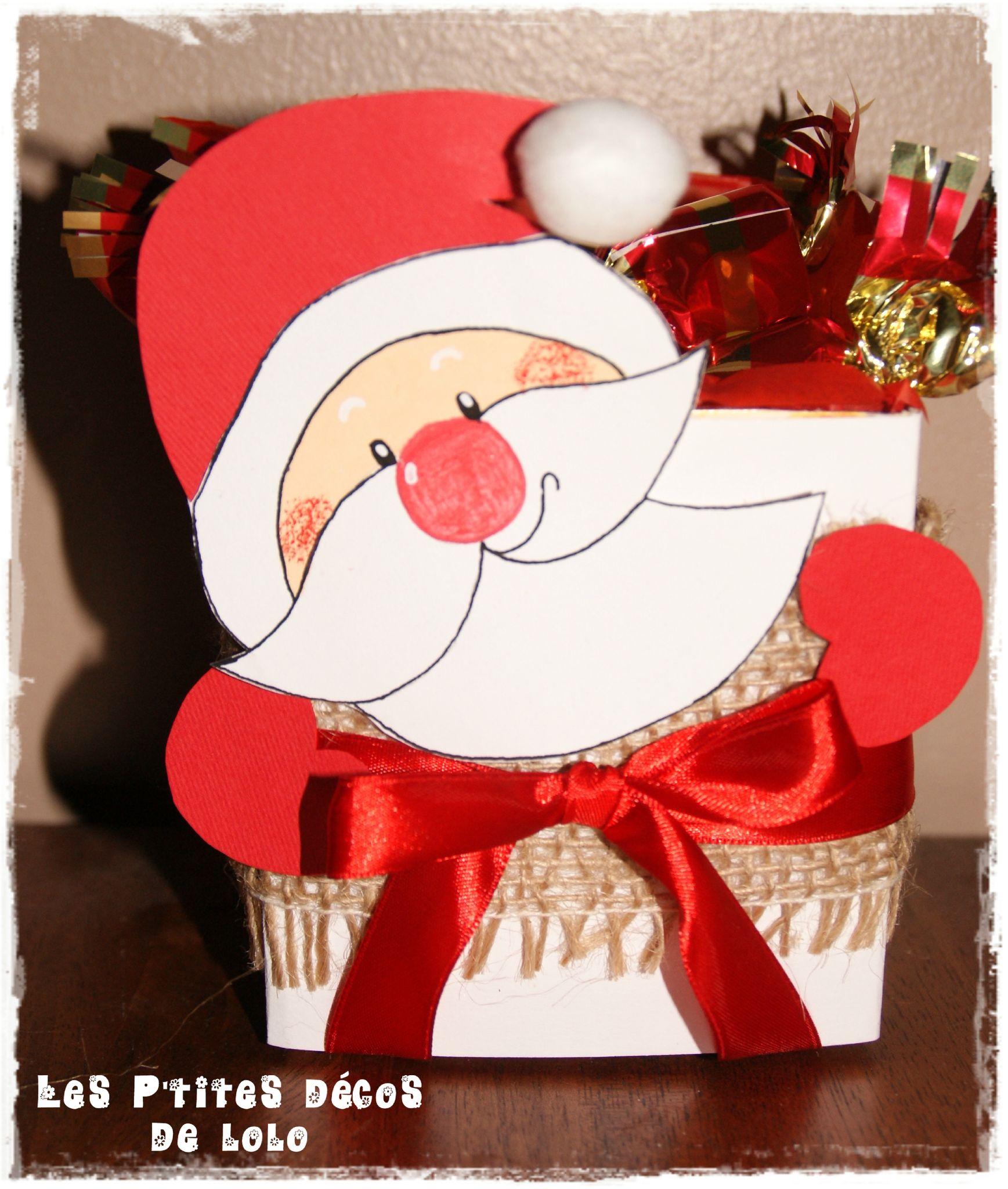 Idée demballage cadeau pour les fêtes : la boîte Père Noël - Les ...