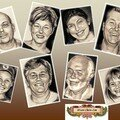 Portraits de famille