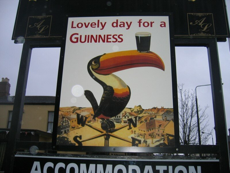Lovely day for a Guinness!