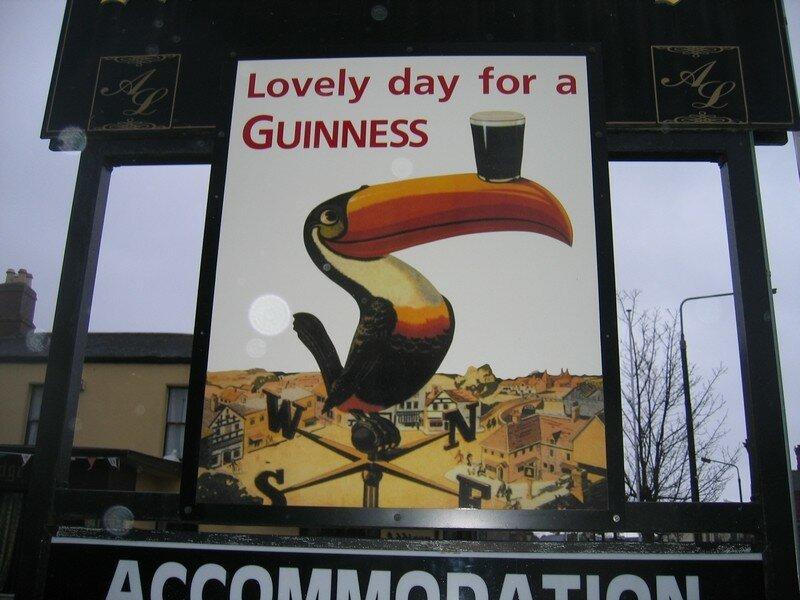 Lovely day for a Guinness!