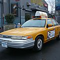 Ford crown victoria taxi new-yorkais 1993