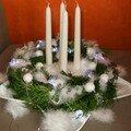 Couronne d'ange Noël 2007