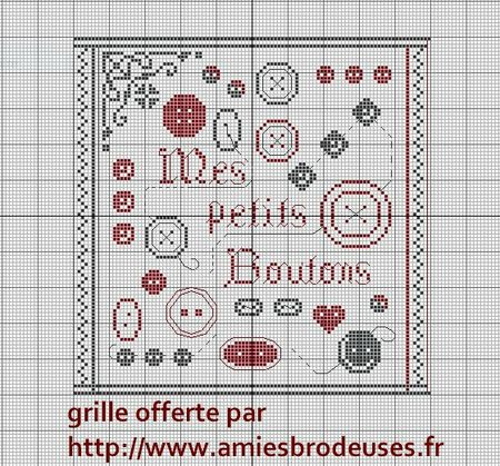 petits boutons Grille