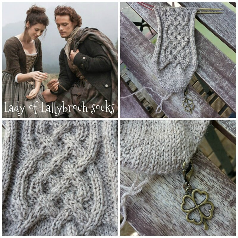 150602 Lady of Lallybroch socks