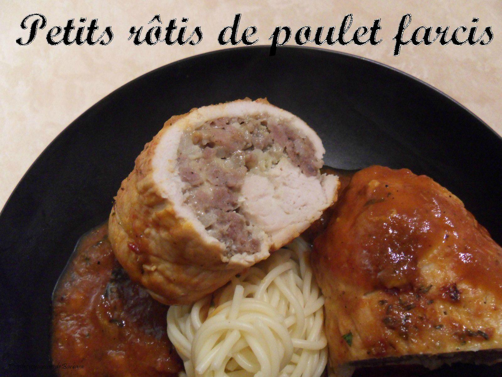 petits rotis de poulet farcis1