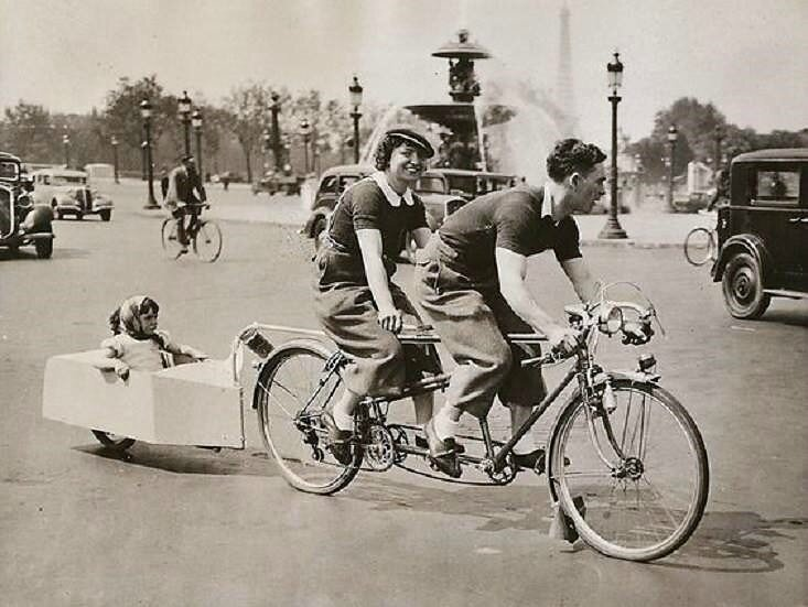 "Paris ""place de la Concorde"" 1938"