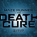 The maze runner : the death cure - le film sortira en 2018
