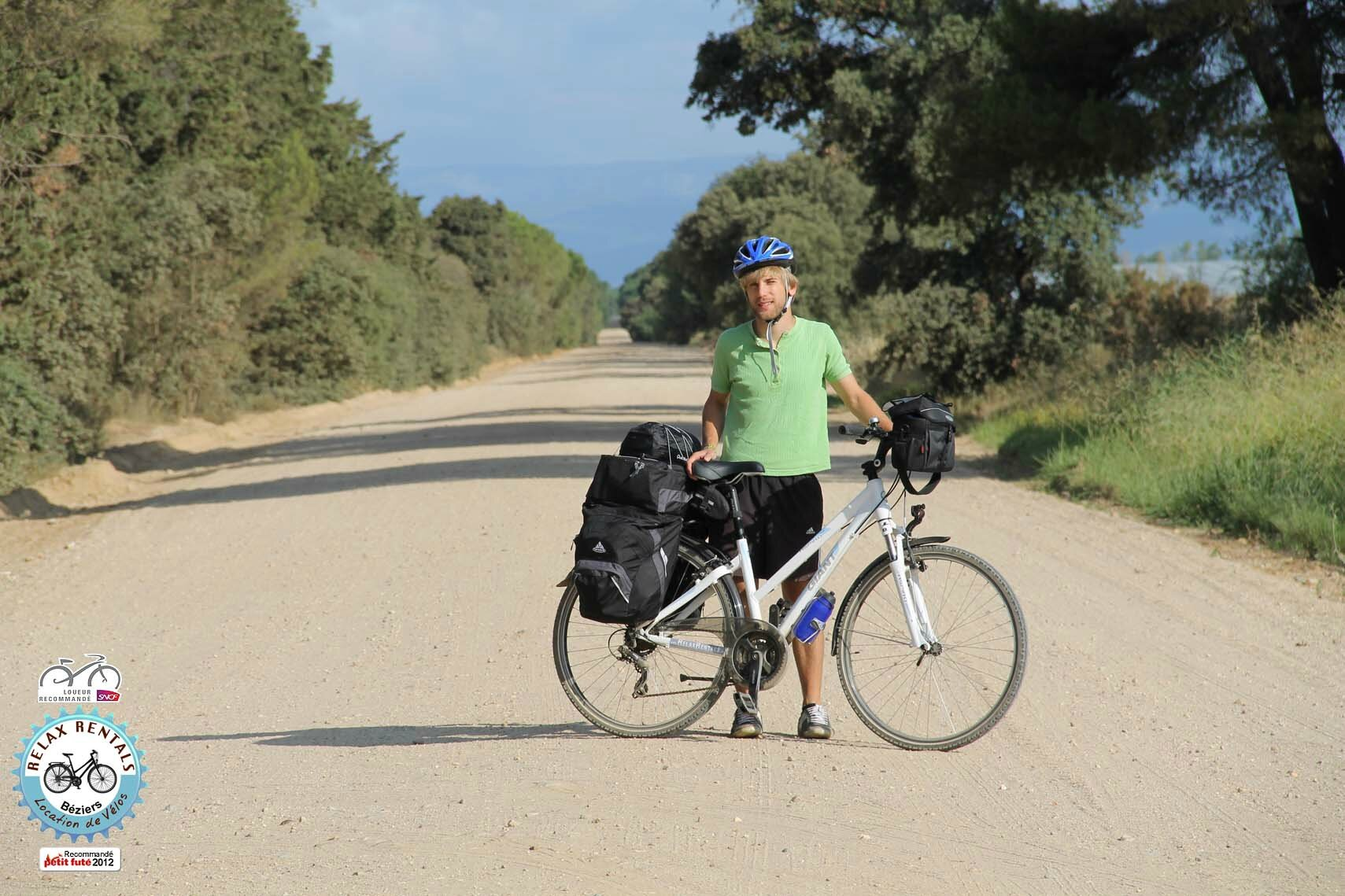 Canal du midi bike hire b ziers capestang narbonne for Garage nissan sete
