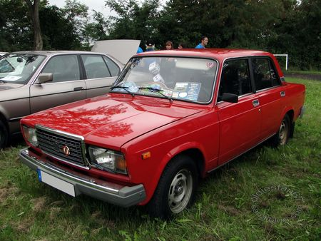 lada 2107 1500 de 1984 bourse de crehange 2011 1