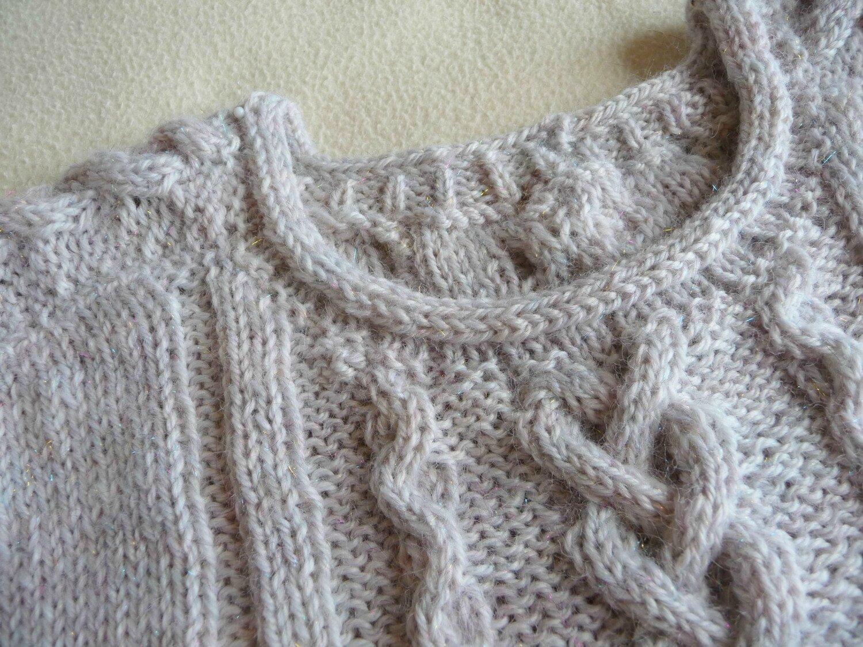 modele tricot gratuit torsade
