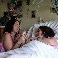 Priscilla à l'hôpital