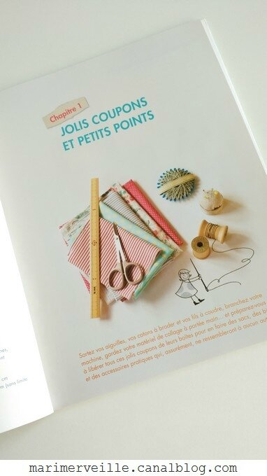 Jolis coupons -couture créative - collage textile éditions de saxe2