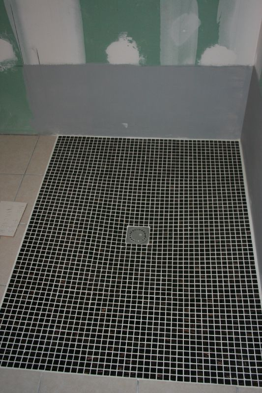 Carrelage sol de douche italienne for Carrelage sol de douche