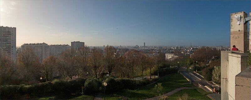 Paris 1 Belleville panorama 122015