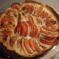 Tarte a la tomate et mozzarelle