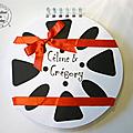 Livre d'Or bobine de film - mariage cinéma