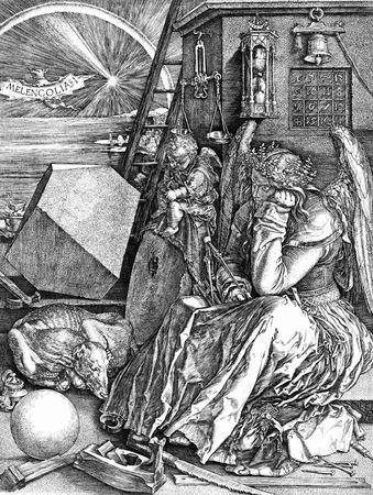 DURER Melancholia I-1514-gravure-emotioninart-wordpress