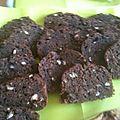 Cake au chocolat fantaisie