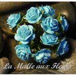 rose bleu 1cm