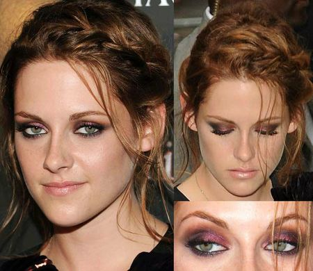 kristen-stewart-eclipse-screening-smoky-burgundy-eye-makeup