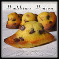 Madeleines menthe chocolat...