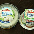Bricks au fromage de brebis Rians et pinards