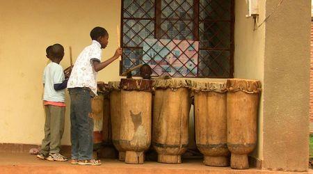 Rutana, tambours