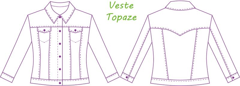 Histoire de Coudre - Topaze