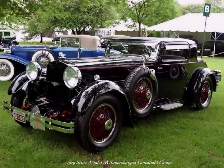 1929 - Stutz Model M Supercharged Lancefield Coupe