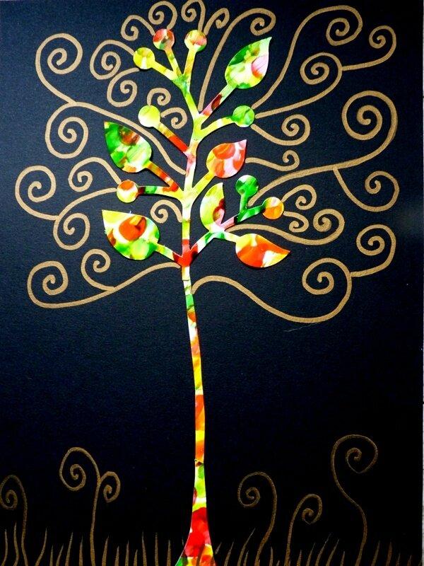 176_Arbres Automne_Trois petits arbres (61)