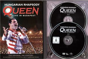 queen dvd hungarian rhapsody