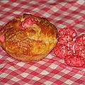 Pognes aux pralines roses de c.felder