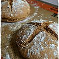 Wheaten bread ( pain irlandais)