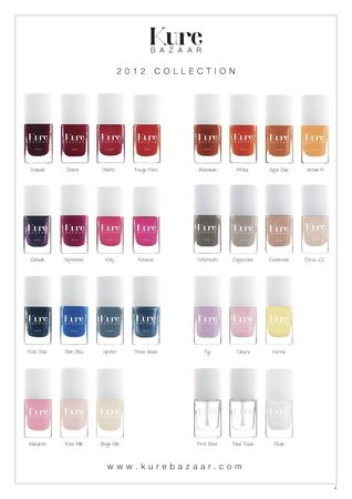 collection vernis kure bazaar