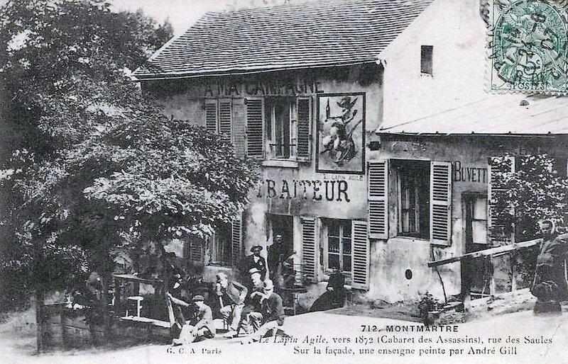 Montmartre lapin agile 1872