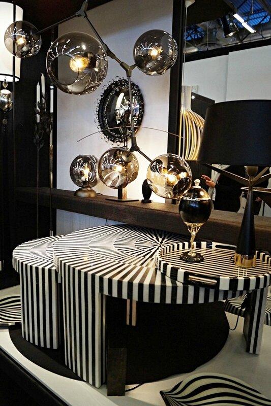 MO17- decor noir et blanc