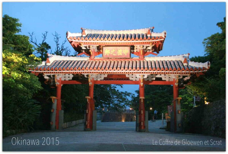 Voyage Okinawa 2015 : le Shuri Castle