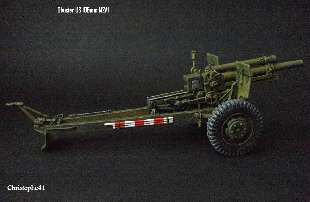 Obusier US M2A1 105mm - PICT3297