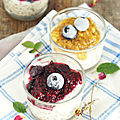 Porridge [overnight] aux flocons d'avoine et graines de chia