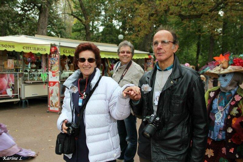 Josette & Bruno, avec Satrurnin LyonParc Tête d Or-2012