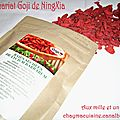 Partenariat Goji de NingXia